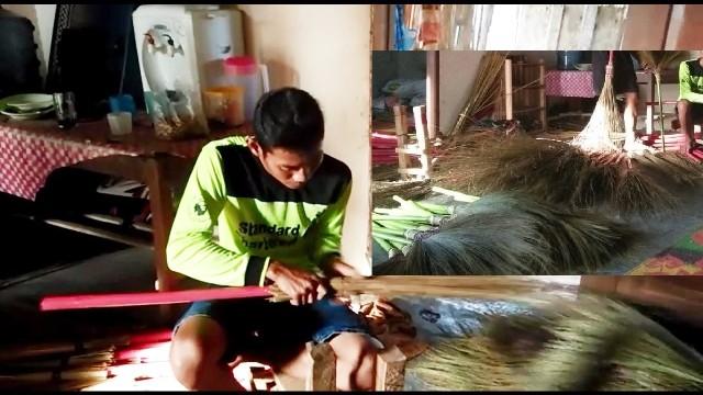 Singkong Anjlok, Daryanto Sulap Lidi Bernilai Rupiah