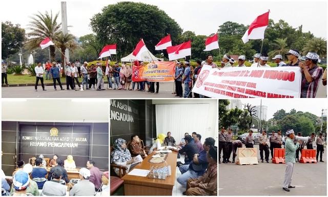 Warga 5 Kecamatan Way Kanan Tuntut Pengembalian Hak dan Ganti Rugi