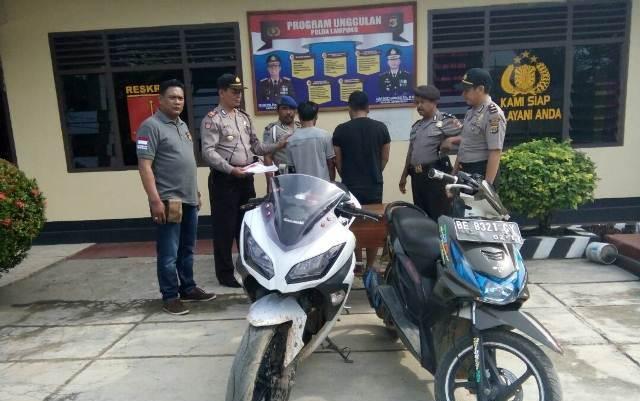 Kepolisian Sektor Seputih Surabaya Amankan Pelaku Curanmor