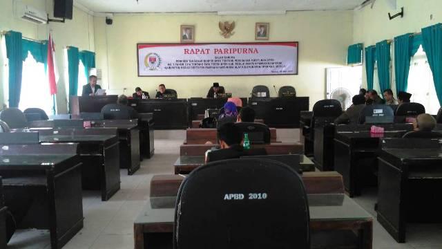 Tujuh Raperda Disampaikan Pemkab Mesuji ke DPRD