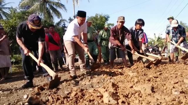 Selain Ronda, Budaya Gotong Goyong Telah Mengakar di Lampung Tengah