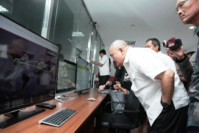 Sumsel Tinjau Sistem CCTV Makasar