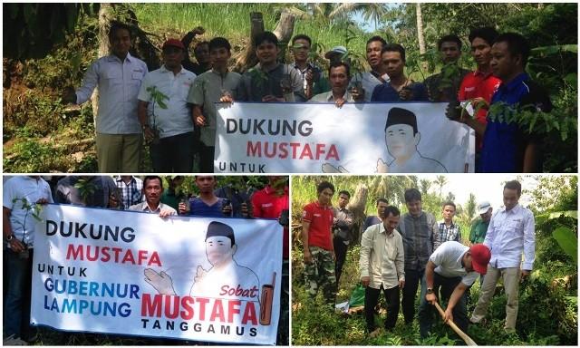 Sobat Mustafa Di Tanggamus Optimis Menang Pilgub