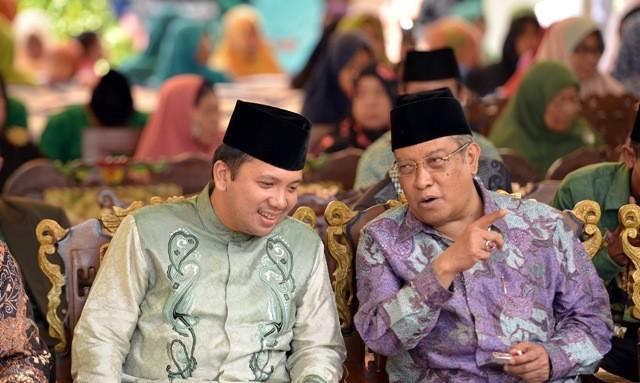 Ridho Ucapkan Terima Kasih Kepada NU, Dukungan Pembangunan Di Lampung