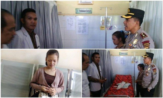 Kompol Saifullah Selamatkan Bayi Prematur Alasal Way Kanan
