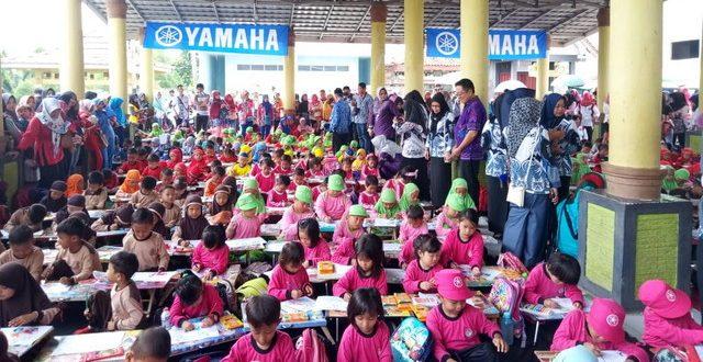 600 Peserta Tingkat Tkpaud Lomba Mewarnai Lampungvisual