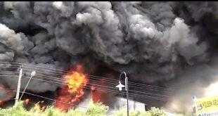 Kebakaran Gudang Produk Wings Diduga Dari Api Bakar Sampah