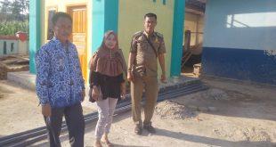 Camat Pubian Monitoring Hasil Pembangunan Di Kampung Riau Periangan