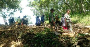 Demi Kesuksesan TMMD Prajurit TNI Tidak Merasa Lelah dan Capek