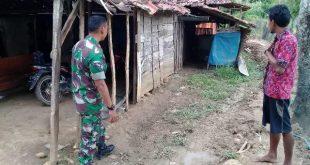 Dorong warga di Lokasi TMMD Untuk Ikut kerja Bhakti