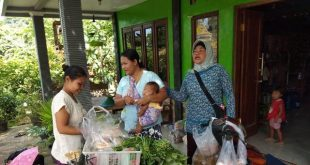 Penjual Sayur Keliling Yang Bakal Menanggung Keuntungan Pasca TMMD