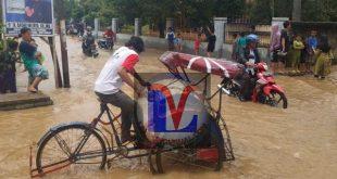 Banjir Melanda Lima Kecamatan Di Lampung Utara