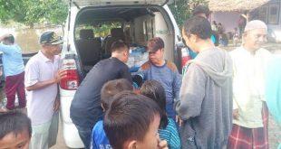 Pemkab Lampura Siagakan Petugas Kesehatan Di Titik Lokasi Banjir