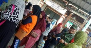 Peran Serta Babinsa Kadipiro Menekan Angka Kelahiran Anak dengan Cara Safari KB Bersama PLKB