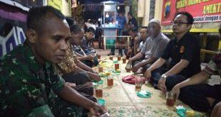 Himbauan BABINSA Kelurahan Serengan Dalam Acara Pertemuan Rutin Warga