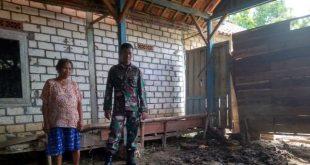 Rumah Janda Ini Akan Direhab Melalui Pelaksanaan TMMD
