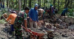 Sarana Gerobag Menjadi Alat Primadona di Lokasi TMMD Kodim