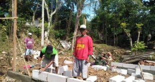 Kebahagian Warga Jurangjero Dengan Direhabnya Mushola Oleh TNI