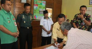 Rangkaian TMMD Kodim Blora, Baznas Juga Beri Bantuan Rehab RTLH Warga Desa Nglengkir