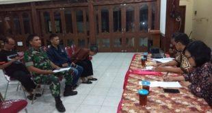 Rapat Pleno Penetapan DPT – TB – 2 (Daftar Pemilih Tetap Tambahan) Babinsa Ikut Hadir