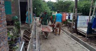 Program TMMD Mojosongo Tingkatkan Kemanunggalan TNI – Rakyat