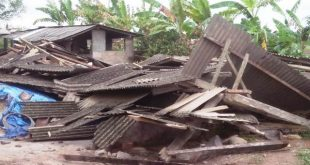 Puting Beliung Sambangi Ratusan Rumah Di Lamteng