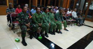 Jelang Pemilu Babinsa Kelurahan Jayengan Hadir Dalam Rakor PAM TPS