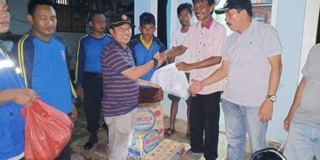 Bupati Lampung Utara Bantu Korban Banjir