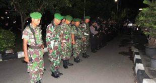 Ciptakan Situasi Aman Pasca Pemilu, Kodim 0735/Surakarta Gandeng Polresta Gelar Patroli Gabungan