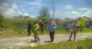 Kepala Kampung Teladas Pelopori Gotong Royong
