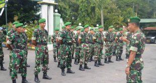 Kodim Pati  Laksanakan Apel siap Gerak Dalam Pengamanan Pilpres dan Pileg Tahun 2019
