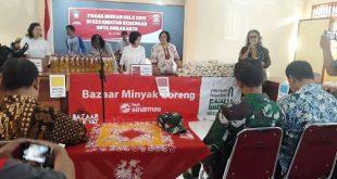 Stabilkan Lonjakan Harga Sembako, Pemkot Surakarta Gelar Pasar Murah di Kecamatan Serengan