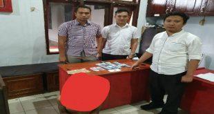 Tukang Copet di dalam Minibus ditangkap Sat Reskrim Polres Lampura