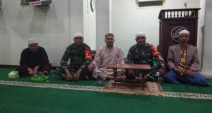 Babinsa Kratonan Gelar Pengajian Nuzulul Qur'an di Masjid Nurmirah
