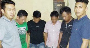 Asyik Pesta Narkotika di Mess Perusahaan, Empat Warga Ditangkap Polisi