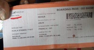 Sejumlah Penumpang Keluhkan Mahalnya Tiket Kereta Api Kuala Stabas dari Way kanan