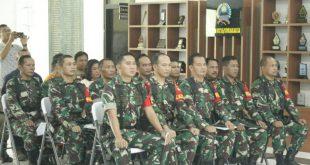 Latihan Posko I Kodim 0735/Surakarta untuk penanggulangan Bencana alam