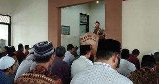 Tingkatkan Iman dan Taqwa, Kasdim 0735/Surakarta Melaksanakan Safari Sholat Jum'at