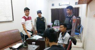 Bawa Sajam Saat Melintas di Jalintim, Pemuda Asal Menggala Ditangkap Tim Gagak Hitam
