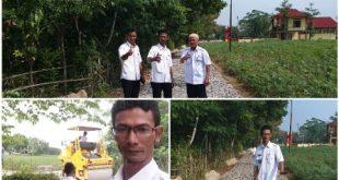 Lurah Mulyo Asri Wujudkan Pembangunan Infrastruktur Dengan Dana Kelurahan