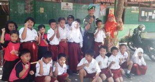Sertu Junaidi, Tanamkan Jiwa Nasionalisme dan Patriotisme di SD 21 Surakarta