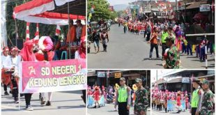 SINERGITAS TNI POLRI AMANKAN PAWAI KARNAVAL