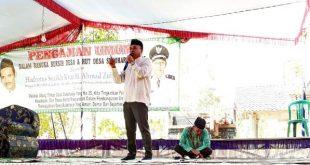 Peringati Hut Desa Sukoharjo Wansori Menghimbau  Warga Untuk Meningkat Kerjasama Dengan Pemerintahan