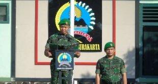 Kodim 0735/Surakarta Awali Minggu Militer Bulan Oktober Dengan Upacara Bendera