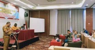 Gubernur Pesan ke PWI Terus Tingkatkan Kemampuan Wartawan di Papua Barat