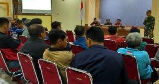 Danramil 3/Serengan Menghadiri Rapat Pemberangkatan Ekspedisi Bakti Pemuda PMK untuk NKRI