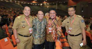 Sigap Hadiri Undangan Mendagri Tito, Gubernur Arinal Tiba Lebih Awal di Acara Rakornas Forkopimda di Sentul Jawa Barat