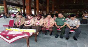 Pjs Danramil 04 Jebres Ikuti Gelar Senja Kwartir ranting Jebres Surakarta