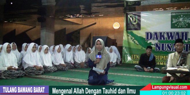Dakwah Islam Nusantara LTN NU Tubaba