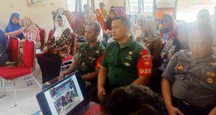 Peran Aktif Babinsa Dalam Rapat Persiapan Lomba Kampung KB